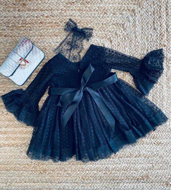 robe enfant manches longues