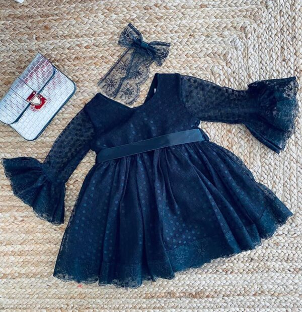robe esmaralda noir 2 à 10 ans