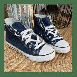basket-haute-toile-bleu-jeans-36-à-41