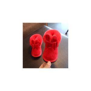 boots-lapin-méga-fourrure-rouge-21-à-25