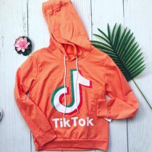 sweat-à-capuche-tik-tok-adulte-orange-tu-38-à-petit-42