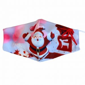 masque lavable noël