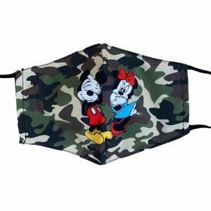 masque militaire adulte mickey