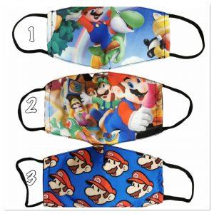masque lavable enfant Mario